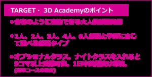 大学生におすすめ 格安セブ島留学 Target 3Dのおすすめポイント