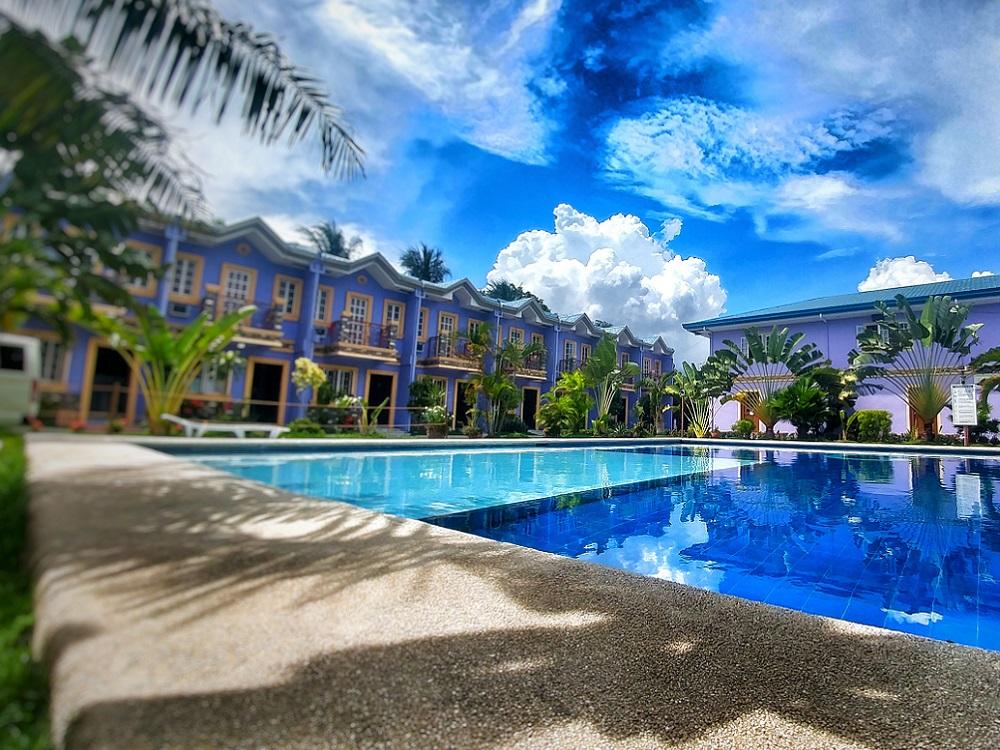 フィリピン留学 セブ島留学 CGスパルタキャンパス ドミトリー外観 2