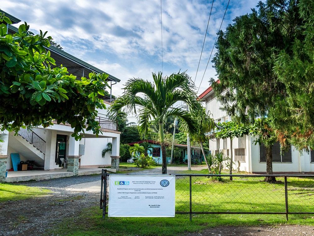 フィリピン留学 ダバオ留学のEandG校1
