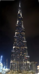 ドバイ留学 世界一の高層ビルバージュ・カリファ 8