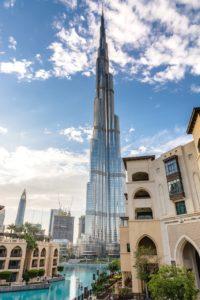 ドバイ留学 世界一の高層ビルバージュ・カリファ 6