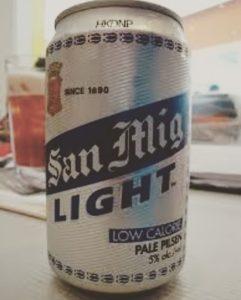 フィリピンビール San Miguel