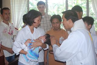 フィリピン留学 洗礼