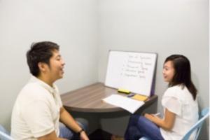 セブ島留学 MBA オリジナル校 SC(発音矯正)ルーム