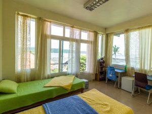 フィリピン留学 ダバオ留学のEandG校 2人部屋