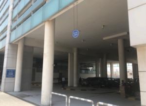 ドバイ 留学 ES Dubai バス停から教室までの行き方 4