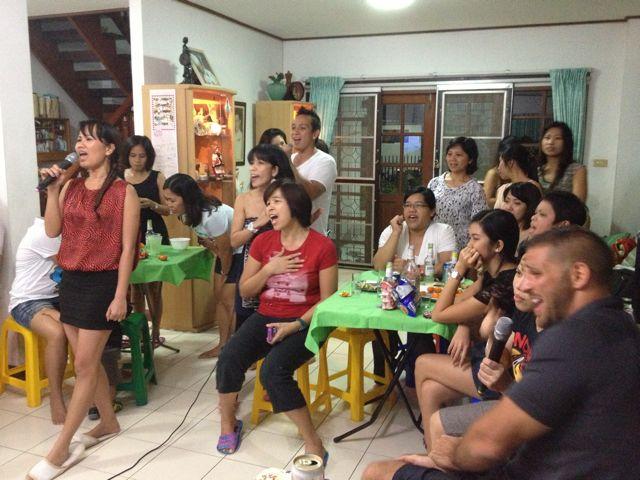 フィリピン留学パーティ