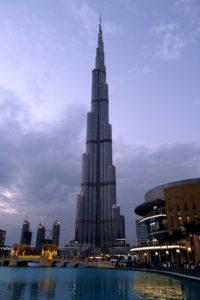 ドバイ留学 世界一の高層ビルバージュ・カリファ 5