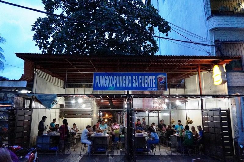 フィリピンローカルフード フエンテにあるプンゴプンゴ