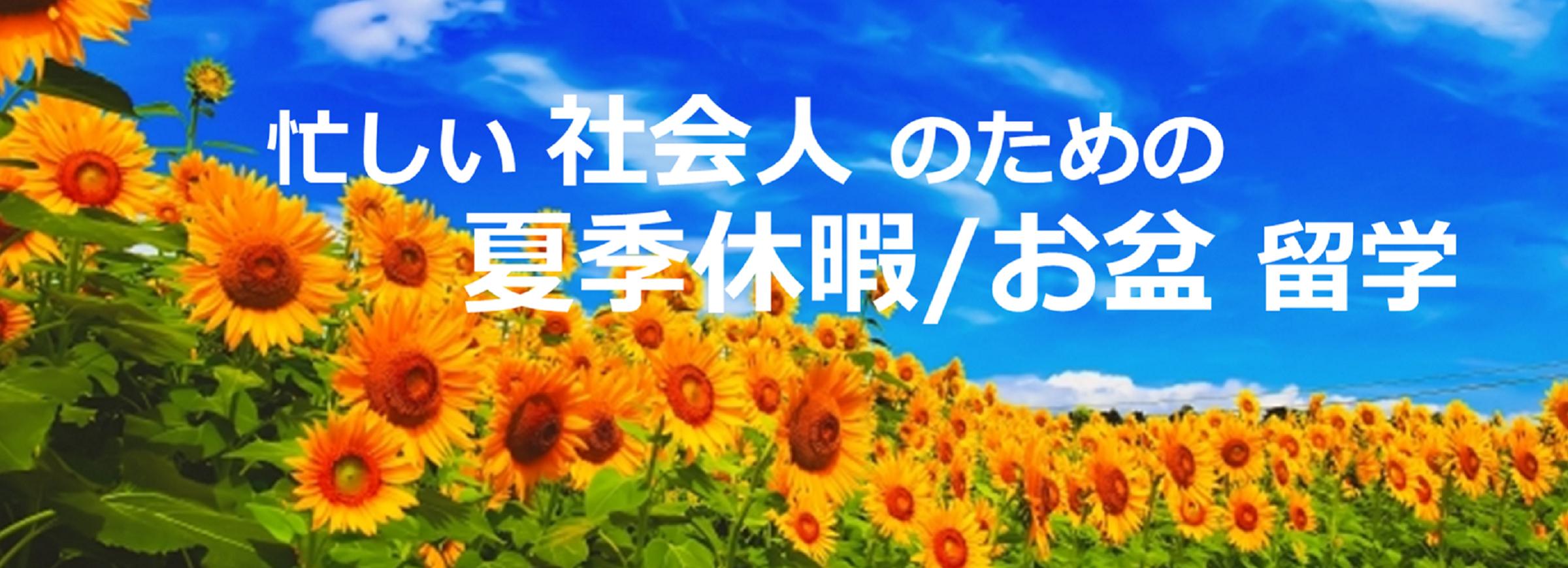 夏季休暇 お盆 セブ島留学 PC