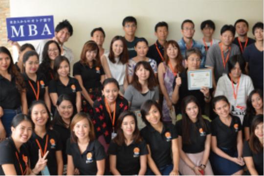 セブ島留学 MBA オリジナル校 卒業式