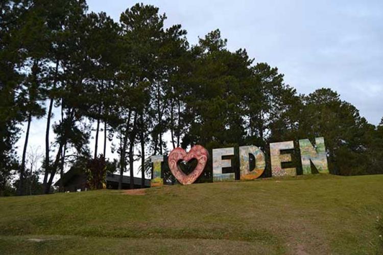 ダバオの観光地 エデンパーク (Eden Nature Park)