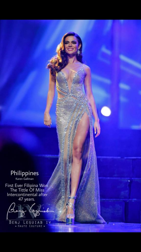 ミスフィリピン2019 オーストラリア系フィリピン人のカレン・ギャルマンさん