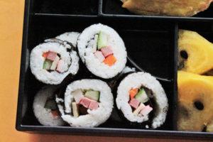 セブ島留学 ZA English 巻き寿司と天ぷら