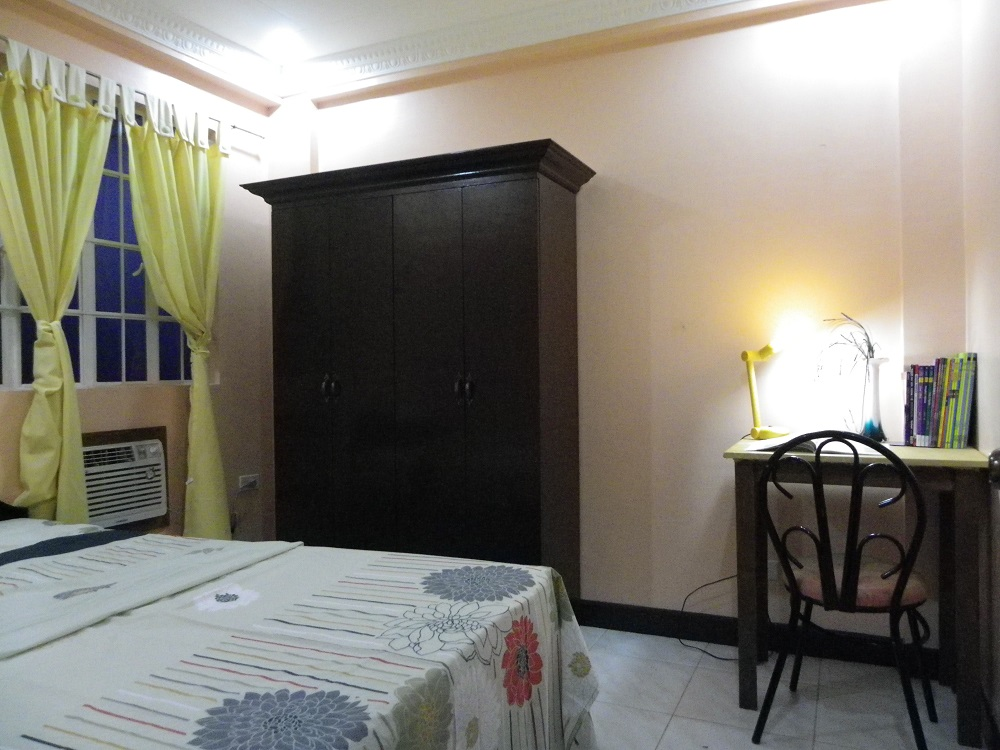 フィリピン留学 セブ島留学 CGスパルタキャンパス シングルルーム